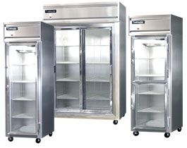 clear door freezers